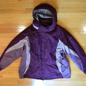 Columbia Women's Interchangeable Purple Jacket